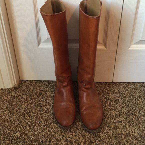 Frye riding boots knee high riding boot with ankle wrap Frye Shoes Over the Knee Boots