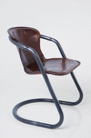 KARE Prague - Cantilever Chair Rodeo Buffalo Brown