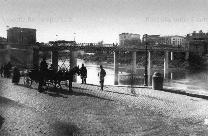 Ponte di Ripetta fine '800