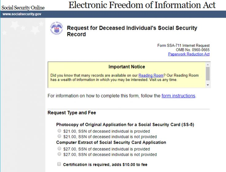Guide to using social security administration records