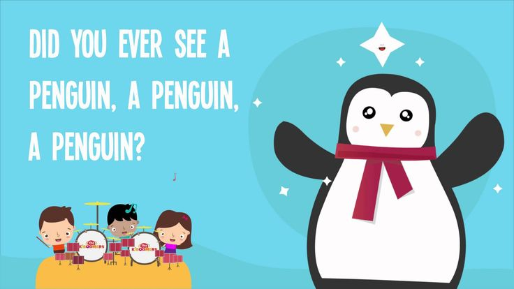 Penguin Song  | Penguin Dance | Did You Ever See a Penguin Song Lyrics