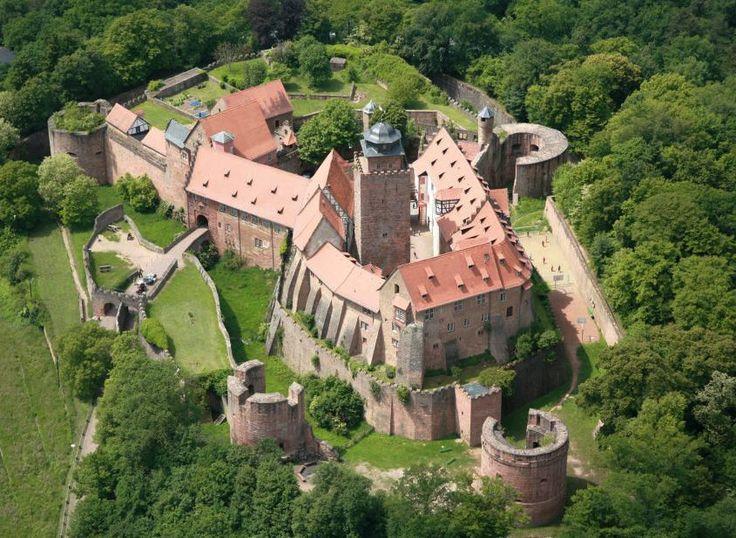 No 442 Burg Breuburg Germany Neue Deko Ideen Burg Schloss Neuschwanstein Mittelalterliche Burg