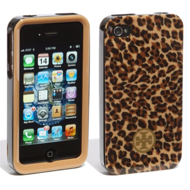 TB: Iphone Cases, Iphone 4S, Style, Tory Burch, Leopards, Burch Iphone, Toryburch, Accessories, Products