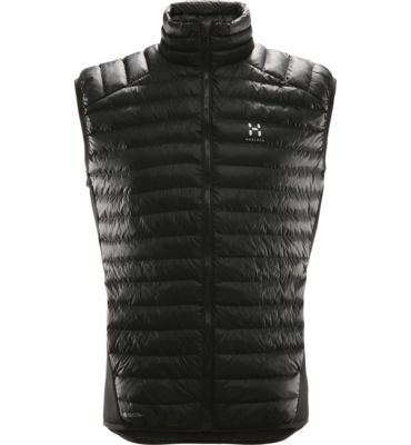 Our Essens Mimic Vest is insulated with synthetic QuadFusion™Mimic, which emulates the extraordinary warming characteristics of down but retain excellent performance while wet.