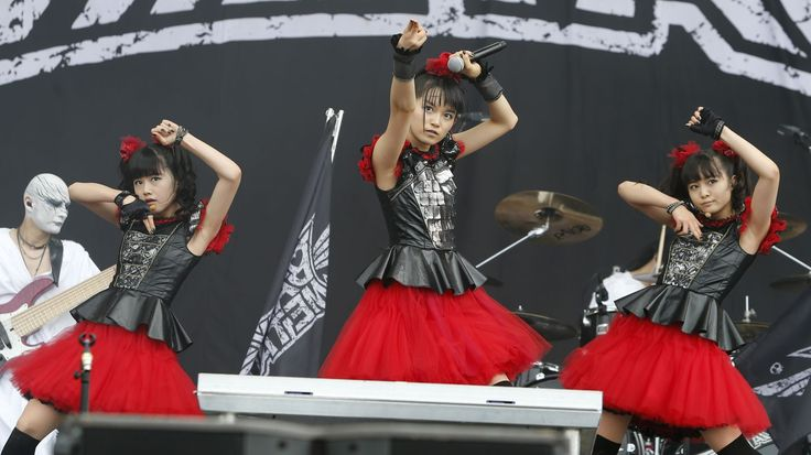 BABYMETAL in READING 2015