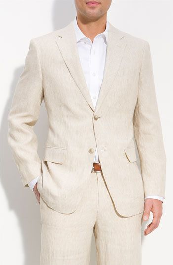 John W. Nordstrom® Stripe Linen Sportcoat available at #Nordstrom