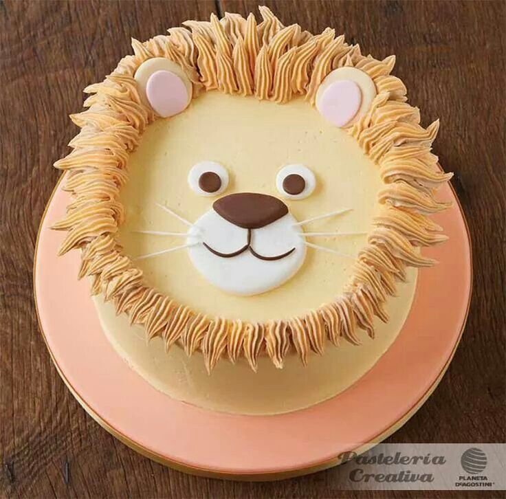 Lion kids cake.
