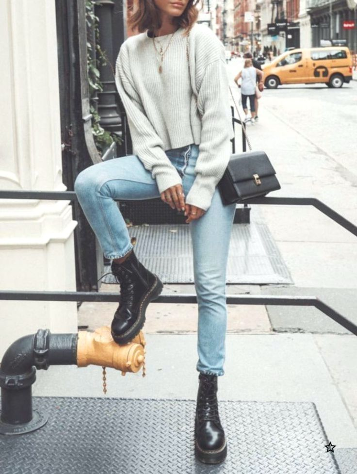 How To Style Doc Martens Doc Martens Style Casual Winter Outfits Winter Fashion Outfits Casual Stylish