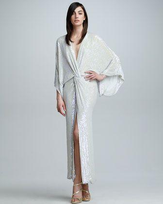 Diane von furstenberg liluye long dress