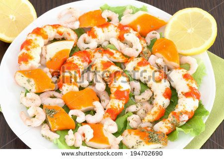 White dish with seafood by rossella, via Shutterstock