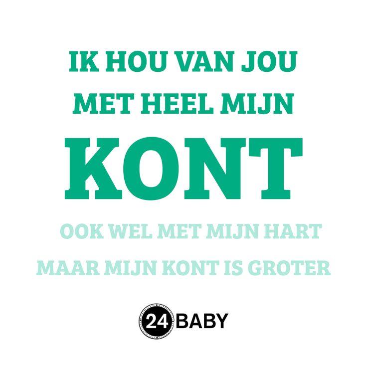Ik hou van jou #mama #baby #zwanger #zwangerschap www.24baby.nl