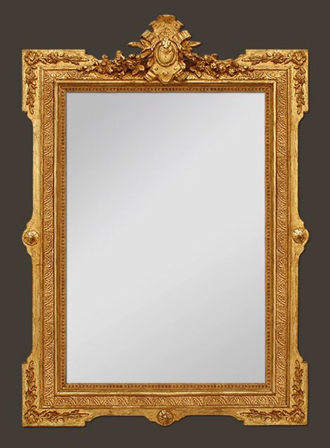 Miroir ancien style napol on iii home 17th 18th 19th for Miroir style louis philippe