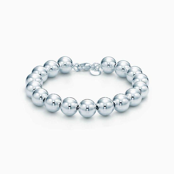 Bead Bracelet In Sterling Silver Tiffany Amp Co Pinterest