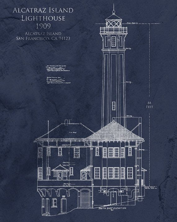 61 best blueprint images on pinterest light house lighthouse and alcatraz lighthouse architectural blueprint art lighthouse art alcatraz blueprint lighthouse blueprint nautical decor seaside beach malvernweather Gallery