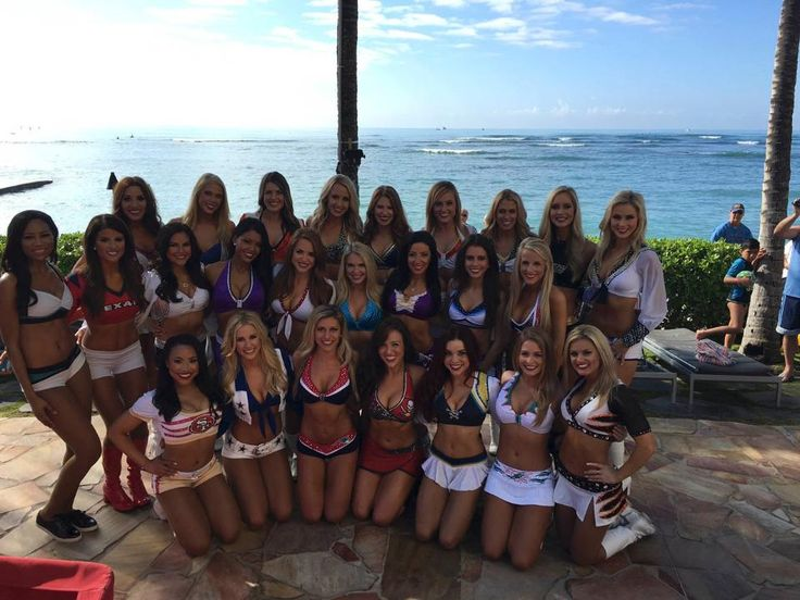 Gold Rush Cheerleader Tyesha attends 2016 Pro Bowl Week