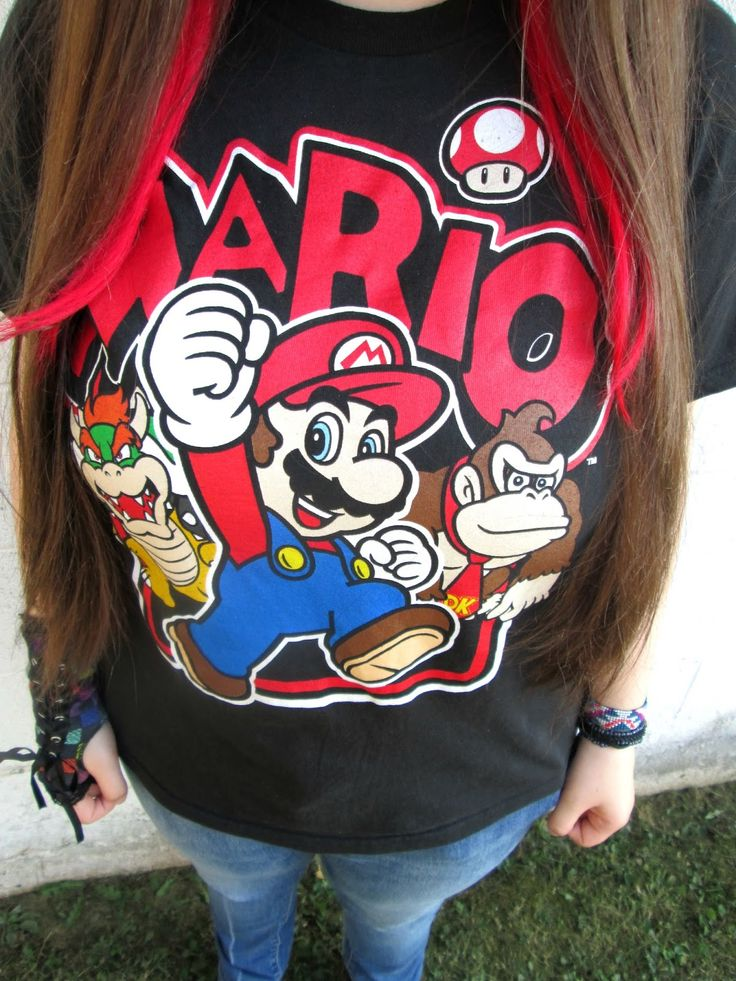 Unique Geek: Fashion With Liz: Mario: