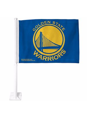 Golden State Warriors Car Flag