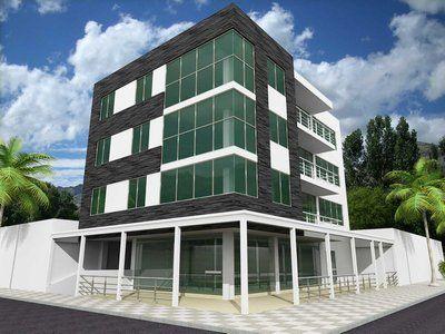 71 best images about fachadas on pinterest aluminium - Fachadas edificios modernos ...