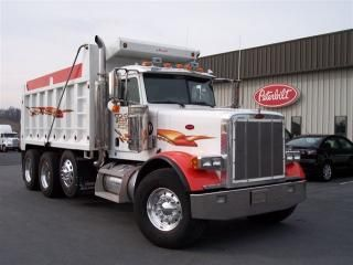 Semis Truck for Sales Peterbilt | Used Peterbilt 357 Heavy Duty Dump Truck For Sale in Virginia Glade ...