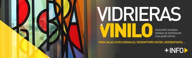 VIDRIERAS VINILO, Camino Neocatecumenal.