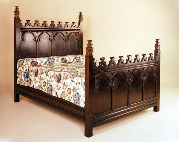 "gothic furniture reproductions | Length 87"" 221cm"