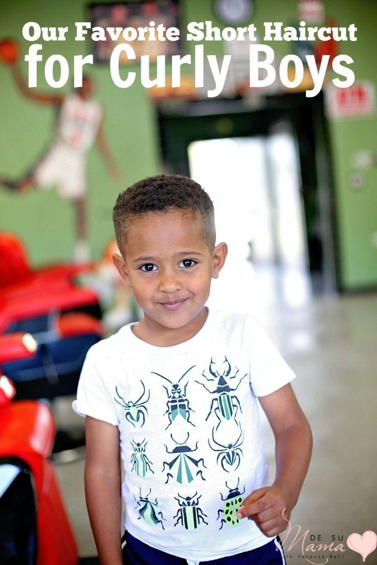 Toddler Curly Hairstyles Mer Enn 25 Bra Ideer Om Boys Curly Haircuts P Pinterest