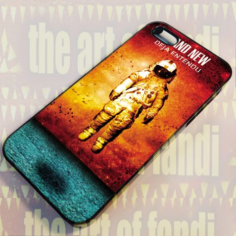 Brand New Deja Entendu For iPhone 4 or 4s Black Rubber Case