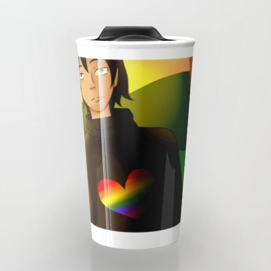 Take your coffee to go with a personalized ceramic travel mug.  Double-walled…