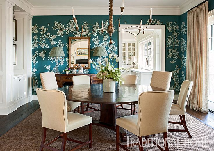 171 curated gorgeous wallpapers ideas by traditionalhome for Wallpaper traditional home