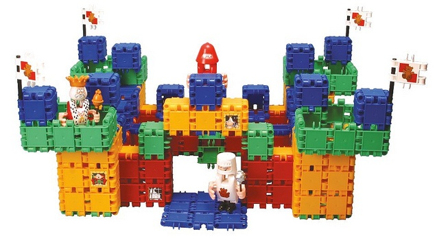 -- See these entertaining Clics toys.