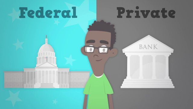 Federal vs. Private Student Loans in a Nutshell by Planet Nutshell. When it comes to financing your education, it's important to the know the difference between federal and private loans. This video covers the basics of both loan types, helping you choose the best financial aid package for you.