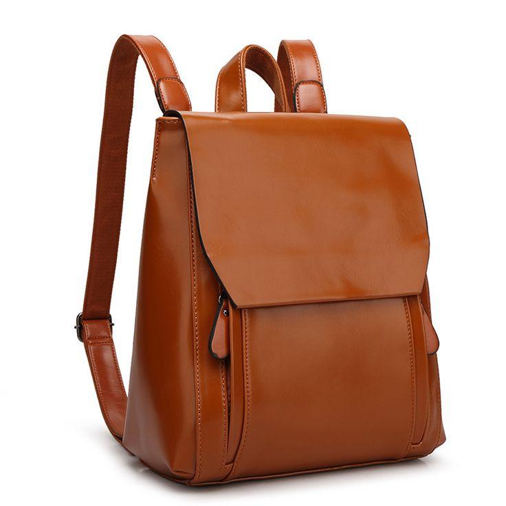 Bien Sacs à dos en cuir de marque Sac à dos de voyage Style classique pas cher [AL93170] - €45.71 : Towido.com, sac en cuir pas cher