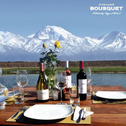 Domaine Jean Bousquet in Tupungato, Province de Mendoza. Certified bio-dynamic wines.