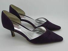 Jacques Vert - Grape Range - Purple  - Court Shoes