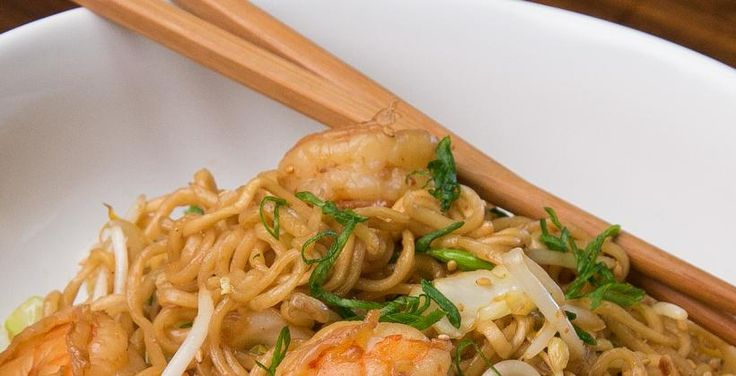 Get The Recipe: Spicy Shrimp Chow Mein | Cooking Panda