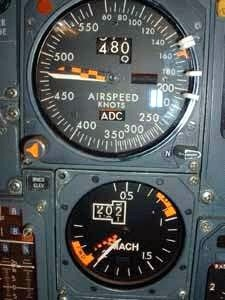 Concorde Machmeter Mach 2.02 - Learn more about the amazing supersonic jet at our page: http://www.squidoo.com/great-aircraft-of-history-concorde