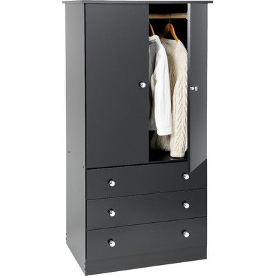 Found it at Wayfair - Casual Bedroom Armoire