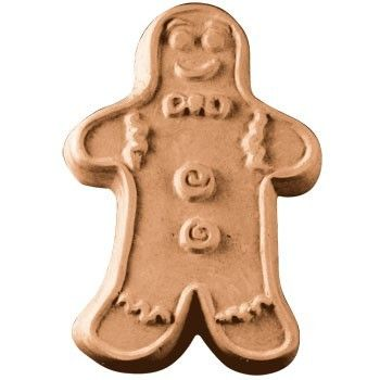 Gingerbread Man Soap Mold - Only $5.93 each - SKU