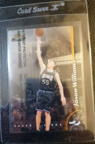 1998 TOPPS FINEST W/C #232 JAYSON WILLIAMS ROOKIE CARD RC SACRAMENTO KINGS MINT