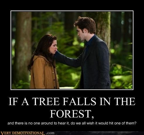 IF A TREE FALLS IN THE FOREST,