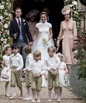 James Matthews, Pippa Middleton and the Duchess of Cambridge.