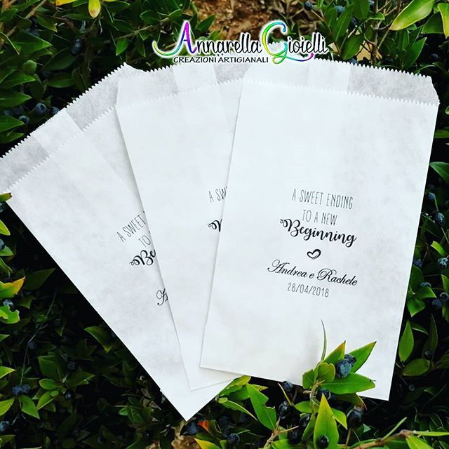 Bomboniere Matrimonio 2018 Amazon.Ogni Lunedi E Un Nuovo Inizio Sacchetti Personalizzati