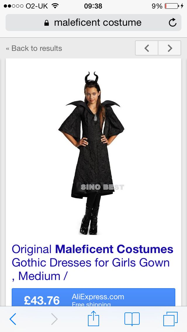 Maleficent (Add Black Wings)