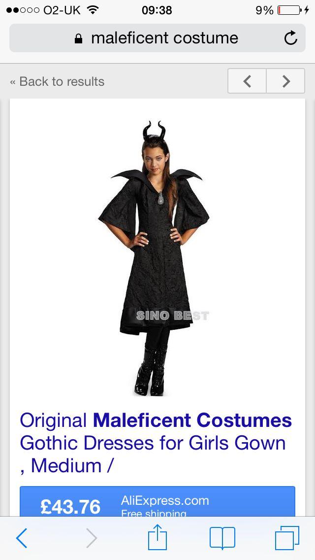 Maleficent (Add Black Wings)