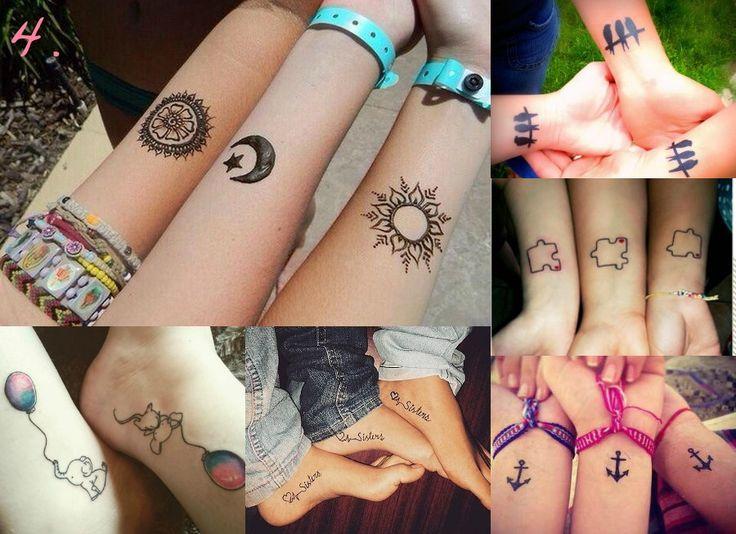 Tatuaje pentru prietene