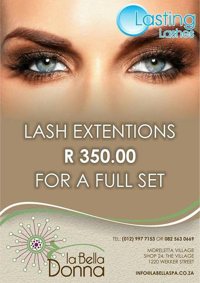 Full set eyelash extentions