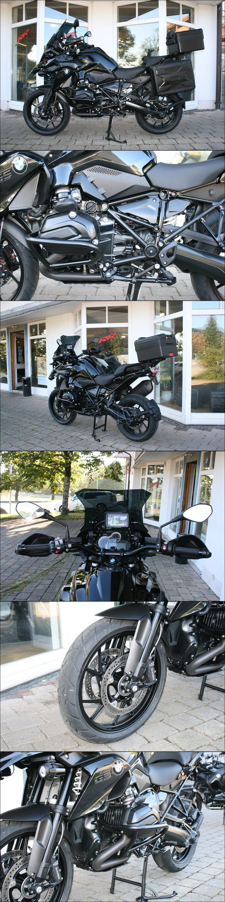 BMW R1200 GS LC Martin Edition Total Black