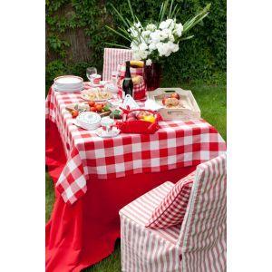 Checkered in garden. #dekoriapl #garden #red #chceckered #design #mygarden #interiors #freshair #decorations #inspirations #style