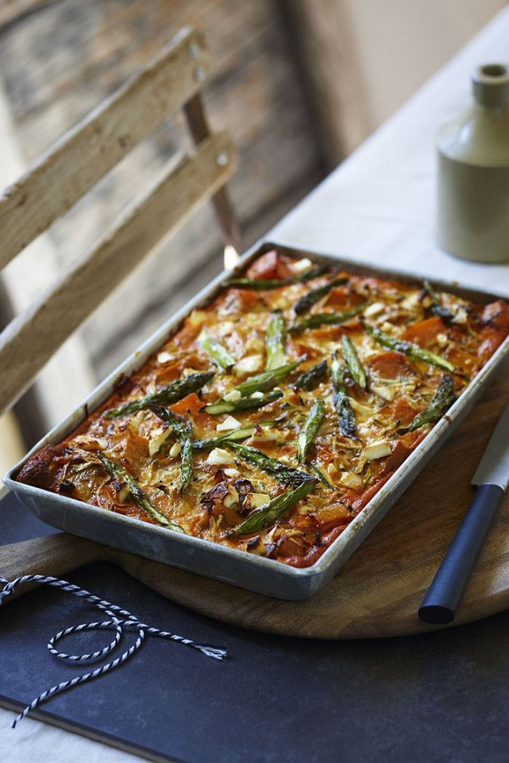 Heart Foundation vegetable and feta slice recipe meal
