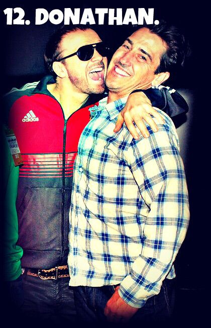 Donnie Wahlberg and Jonathan Knight